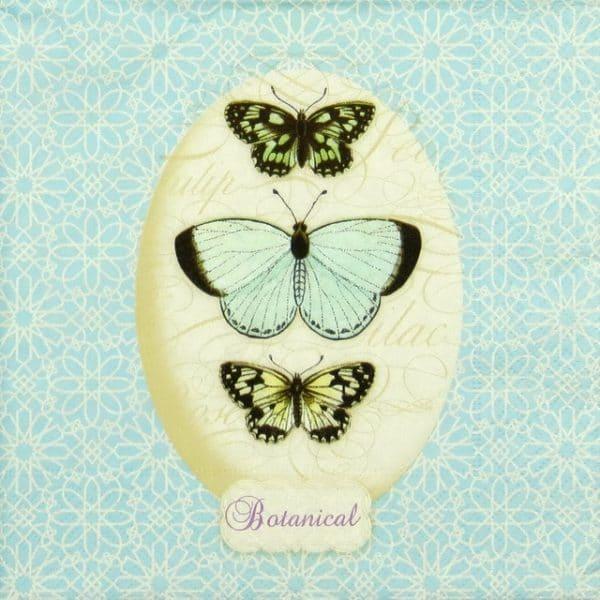 Paper Napkin - A breath of light blue