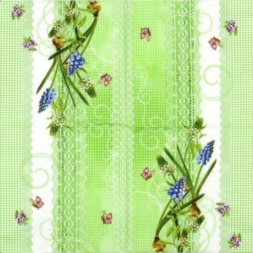 Paper Napkin - Muscari
