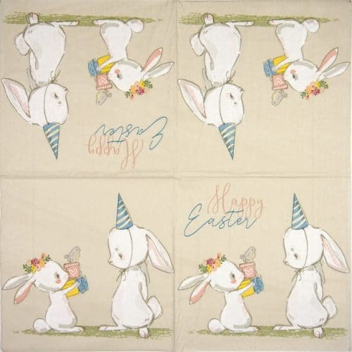Paper Napkin - Easter surprise