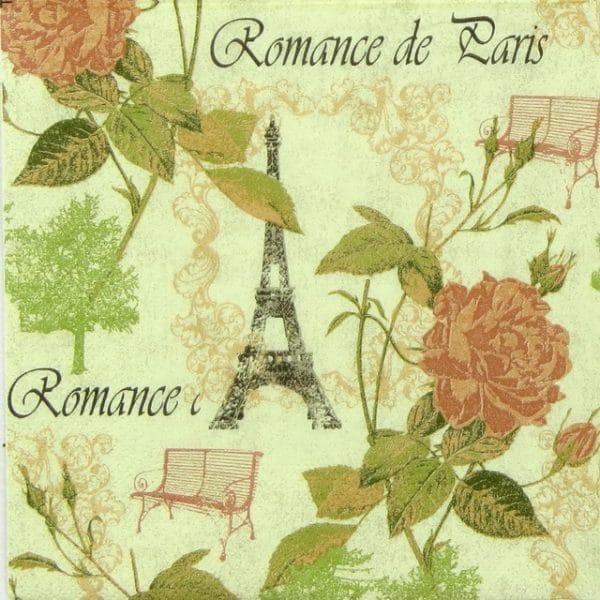 Paper Napkin - Romance de Paris