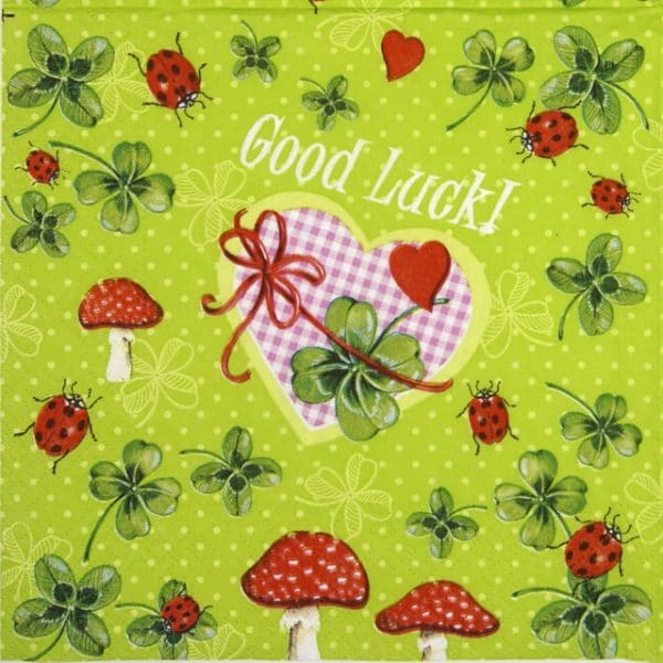 Lunch Napkins (20) - Good Luck