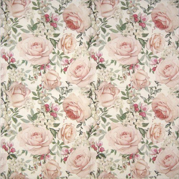 Paper Napkin - Gorgeous Roses