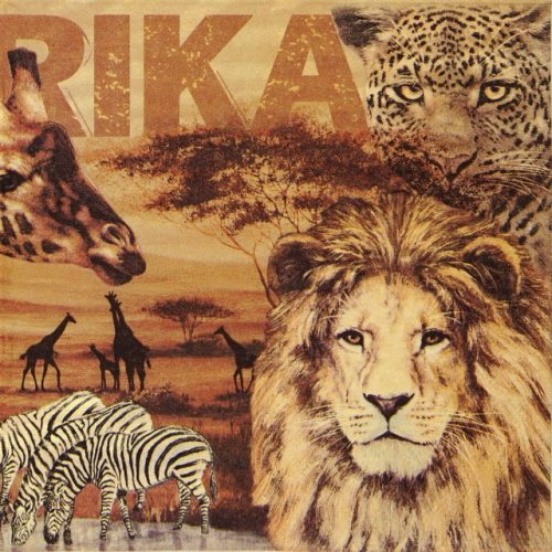 Lunch Napkins (20) - Africa Collage