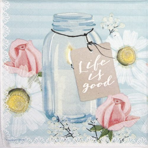 Lunch Napkins (20) - Life is Good