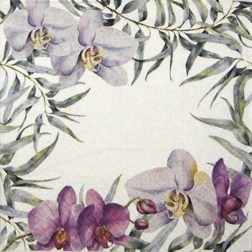 Paper Napkin - Elegant Orchid