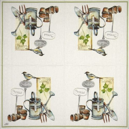 Cocktail Napkins (20) - I'm in the Garden