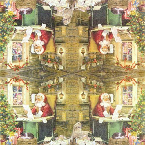 Lunch Napkins (20) - Santa's Mail