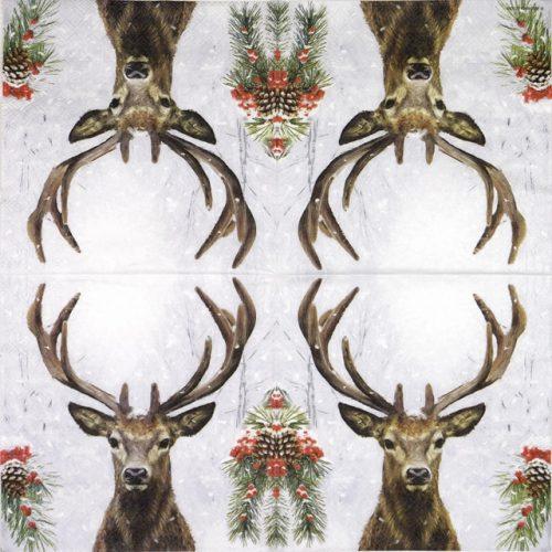 Paper Napkin - Deer in winter