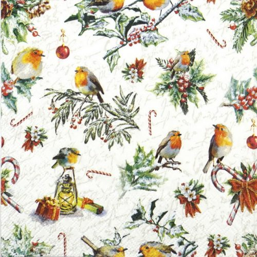 Paper Napkin - Christmas Ornaments