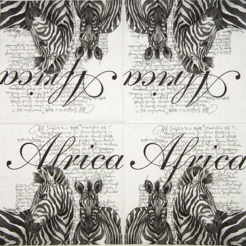 Paper Napkin - Africa White