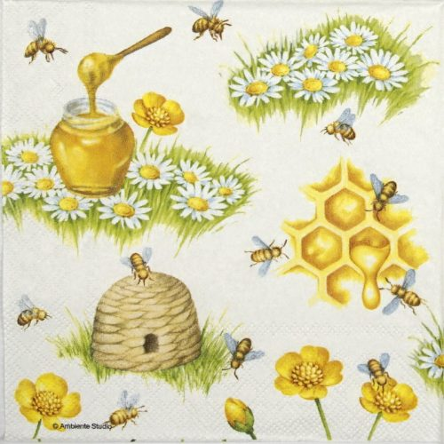 Lunch Napkins (20) - Bees