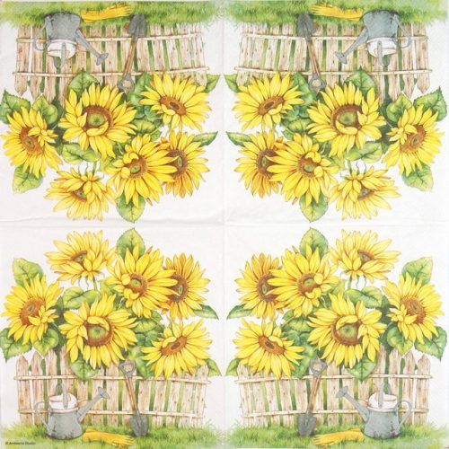 Lunch Napkins (20) - Garden Of Sunflowers