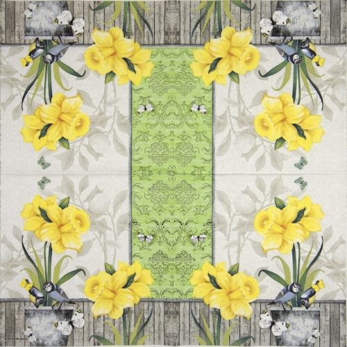Lunch Napkins (20) - Sunny spring