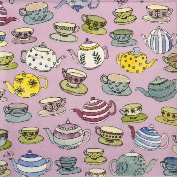 Paper Napkin - English Afternoon Tea rose