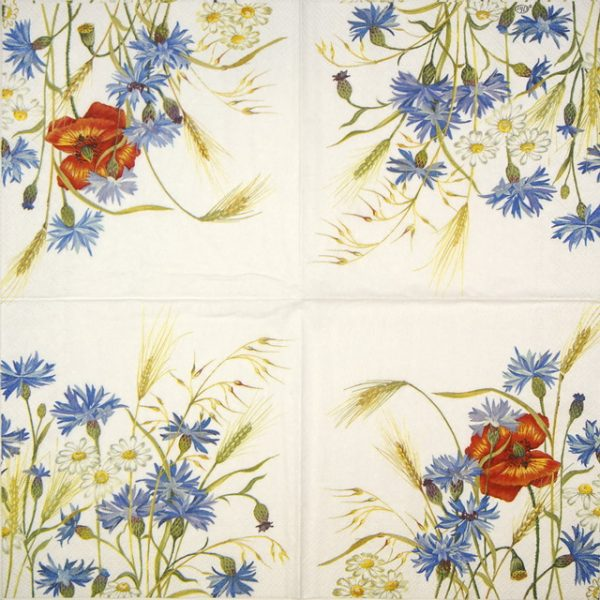 Lunch Napkins (20) - In the Fields cream