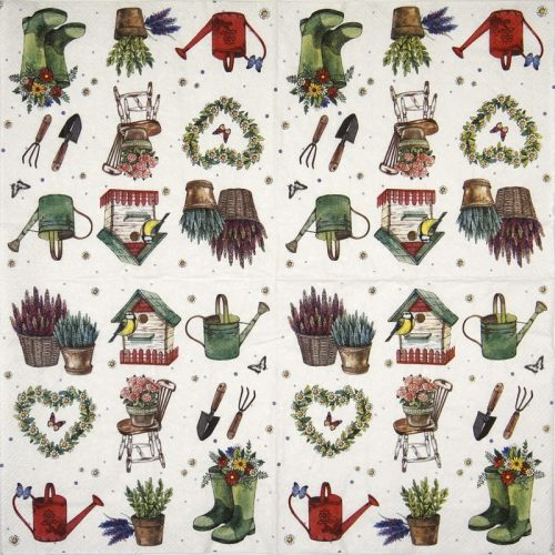 Lunch Napkins (20) -  Garden Feelings