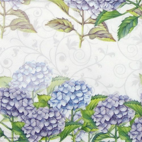 Lunch Napkins (20) - Hortensia