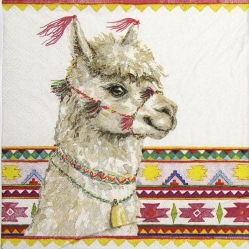Lunch Napkins (20) - Alpaca