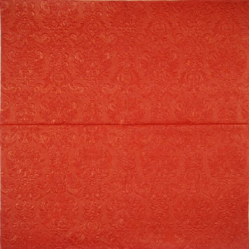 Lunch Napkins (16) - Elegance red (embossed)