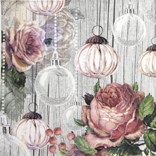 Lunch Napkins (20) - Roses and Baubles