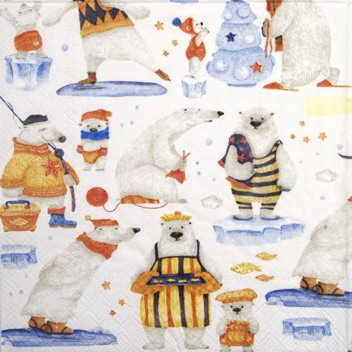 Lunch Napkins (20) -  Artic Tales