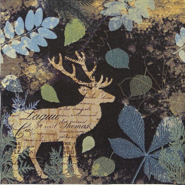 Lunch Napkins (20) - Autumn Deer