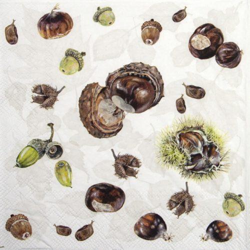 Paper Napkin - Chestnuts