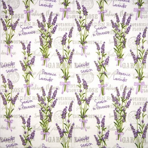 Paper Napkin - Lavender Season in Provance