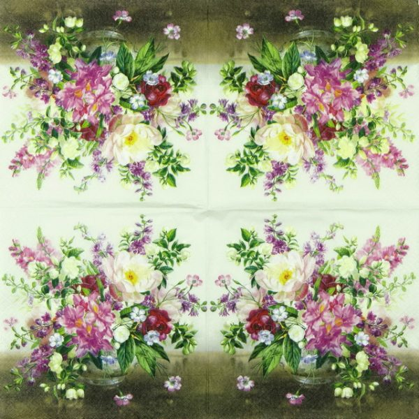 Paper Napkin - Bouquet Naturel