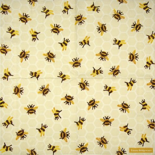 Lunch Napkins (20) - Bumble Bee