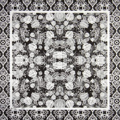 Paper Napkin - Classic Garden black