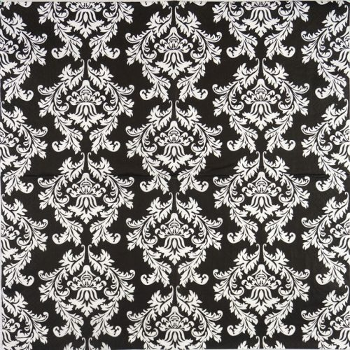 Paper Napkin - Black & white wallpaper