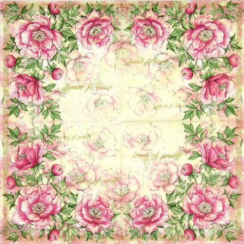 Paper Napkin - Scent of Peony