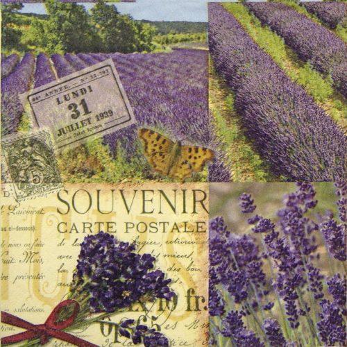 Paper Napkin - Lavender Scent
