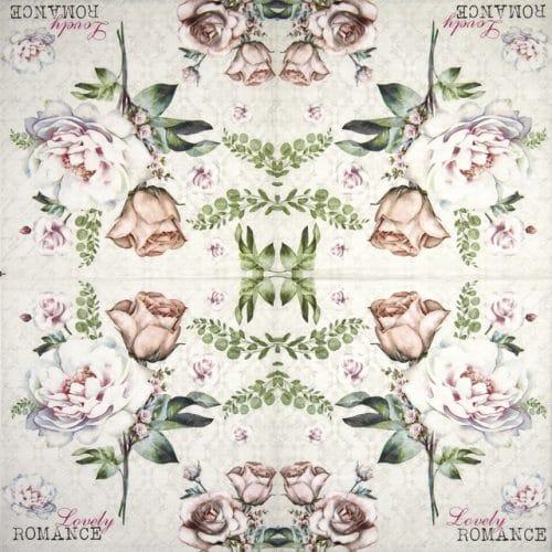 Paper Napkin - Lovely Romance