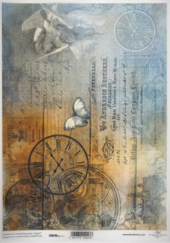 Translucent/Vellum Paper - Rustic