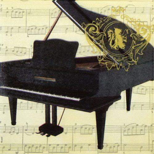 Paper Napkin - Concerto Piano