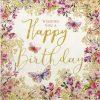 Paper Napkin - Nigel Quiney - Happy Birthday Wishes
