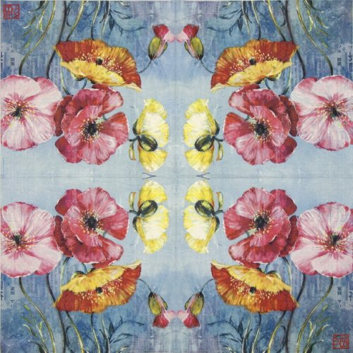 Paper Napkin - Sophie Adde: Pavot