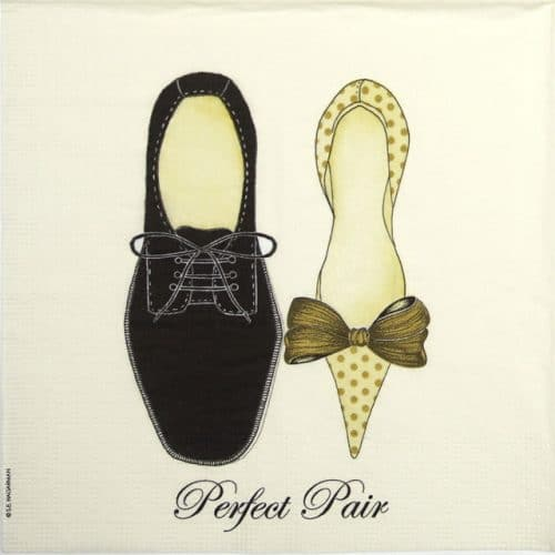 Paper Napkin - S.E. Hagarman: Perfect Pair