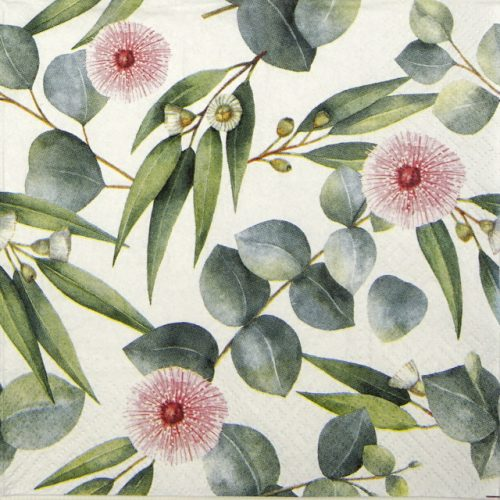 Paper Napkin - Leaves of Eucalyptus