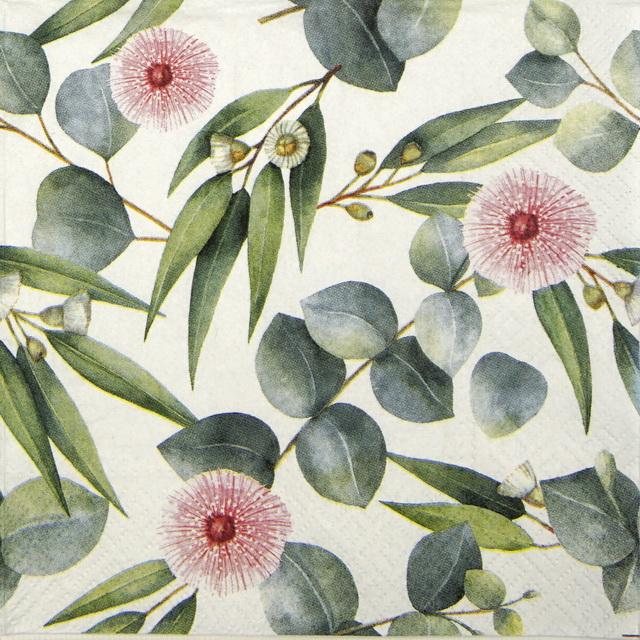 Paper Napkin - Leaves of Eucalyptus