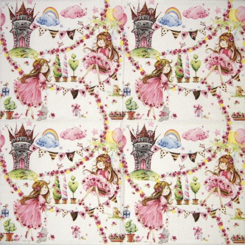 Paper Napkin - Fairy Tale Princess