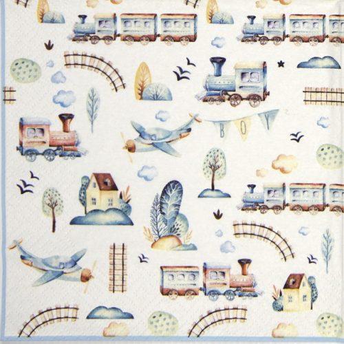 Paper Napkin - Jouets de Garcons