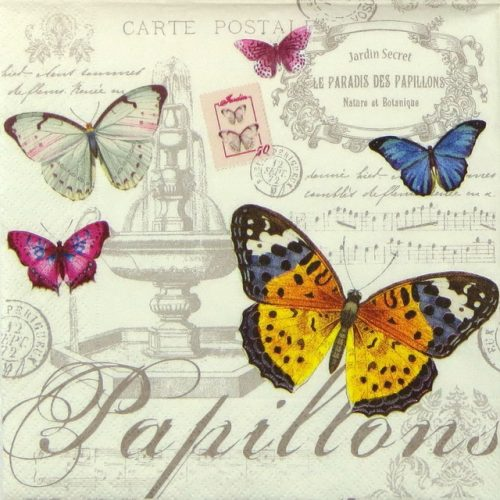 Lunch Napkins (20) - Papillons