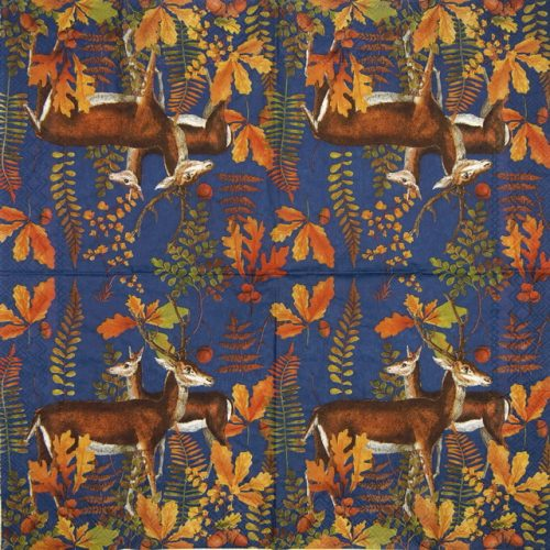 Paper Napkin - Autumn Deer