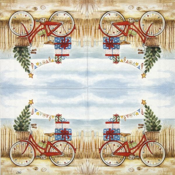 Cocktail Napkins (20) - Christmas at the Seaside