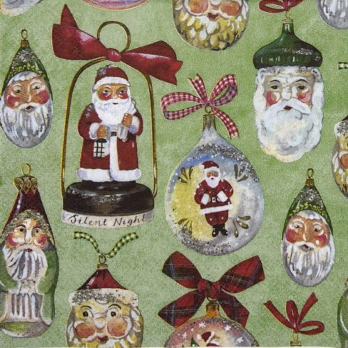 Paper Napkin - Christmas Decoration green