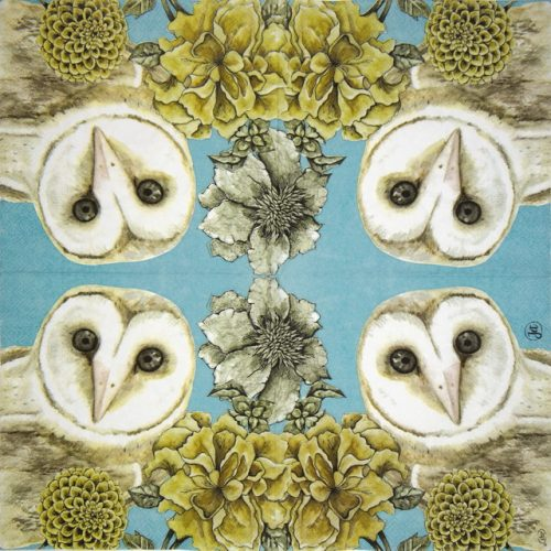 Paper Napkin -  Owl Tale