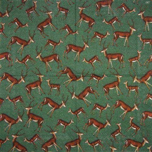 Paper Napkin - Forest Deer